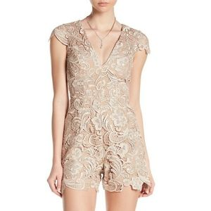 Dress the Population Juliette Plunge Romper